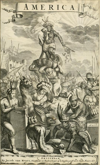America: being an accurate description of the New World, 1671