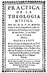 Theological practice by Miguel de Godínez (Wadding))