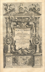 Novvs orbis, seu, Descriptionis indiae occidentalis libri XVIII, by Joannes de Laet