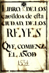 Books of the Municipality de Lima (1534 – 1839)